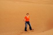 Алина в пустыне