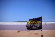 флаг рвется на ветру