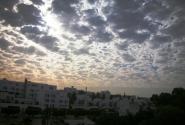 небо спускается на Агадир