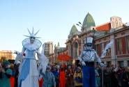 Новосибирцы протестуют против холодной зимы, свиного гриппа и глобализма