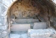 Первональное место установки саркофага Св. Николая в храме в Демре.