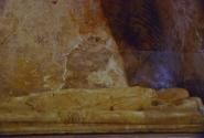 Крышка саркофага Святого Николая. Храм в Демре.