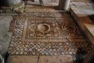 Мозаичные полы храма Николая Чудотворца в Демре