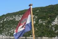 В Лимский залив под хорватским флагом.