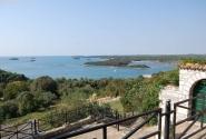 Вид на Море со смотровой площадки Врсара.