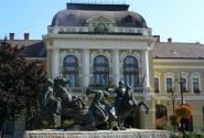 Эгер. Памятник венгерским воинам.