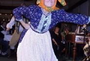 Старушка-веселушка. Прага. Фольклорная программа.