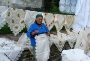 Жительница городка Тихань на Балатоне.