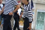 Ребята-гондольеры. Венеция.