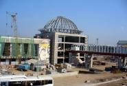 Здание городского вокзала. В настоящее время на реконструкции.