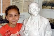 Моя любимая маленькая подружка. В Национальном музее.