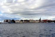 Вид с острова на Пореч.