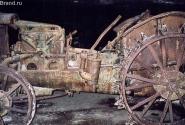 Один из тракторов, который использовали как генератор