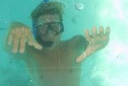 12. Фото сделано в лодке с прозрачным дном