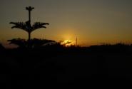 закат по дороге в Джабле