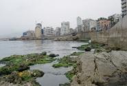 утренний вид с набережной Бейрута