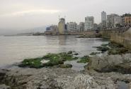 утро Бейрута и моря