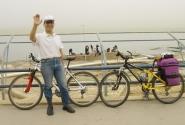 ливанец-велосипедист