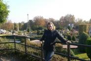 Я на фоне парка