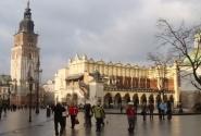 Центральная торговая площадь Кракова