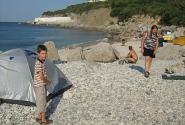 Дикий Форосский пляж