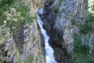 Водопад над долиной нарзанов