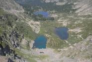 Вид на Карагольские озера