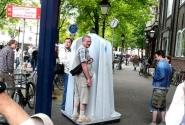 Мужской туалет на улице