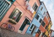 Тихая улочка на острове Бурано