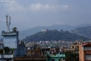 Вид с крыши отеля на Катманду