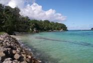 один из пляжей на Маэ