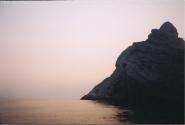Карадаг (после смерти М.Волошина после землетрясения от горы отломился обломок, и все увидели профиль М.Волошина)