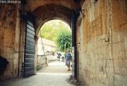 Вход в город-крепость