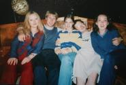ночь 19 июля 2002 (Катя, Юра, Аня, Митя, я)
