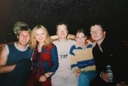 ночь 19 июля 2002 (Юра, Катя, Митя, Аня, Миша)