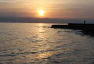 Мертвое море. Тень блоггера на горизонте.... или мираж...