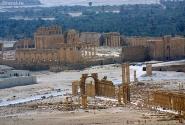 Руины Пальмиры. Вид сверху