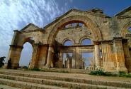 Все та же Сирия. Развалины византийской базилики Симеона Столпника