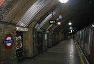 метро Бейкер стрит внутри