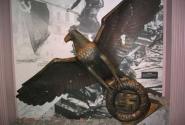 Этого орла советские воины после взятия Рейхстага подарили ангичанам - в Имперском музее войны