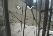 Во время подъема на лифте Большой Арки
