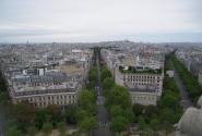 Вид на Сакре-Кер с Триумфальной арки