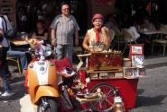 Уличные музыканты на Монмартре