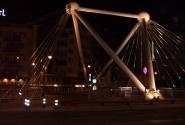Andorra la Vella- мост, вечер