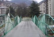 Andorra la Vella, спа центр вход с моста