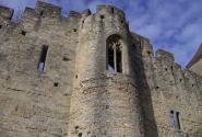 Каркасон, древние стены