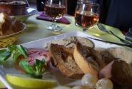 Каркасон-ресторан, фуа-гра