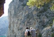 На площадке Трагара - Капри