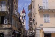 КЕРКИРА.Узкие улицы старого города