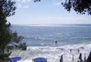 Пляж белого песка на Сардинии